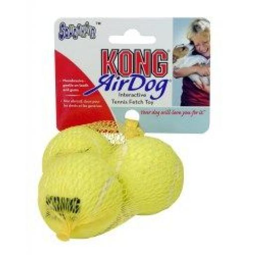 KONG Air Dog Squeaker Tennis Balls