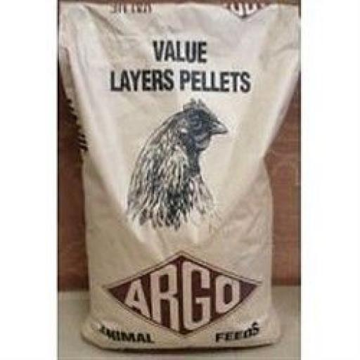 Argo Value Layers Pellets 20kg