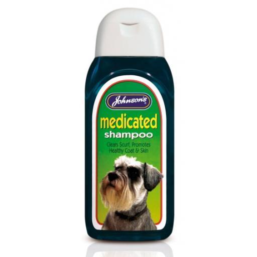 Johnsons Medicated Cat Shampoo