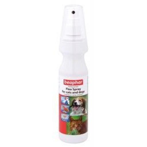 Beaphar Flea Spray For Cat & Dog 150ml