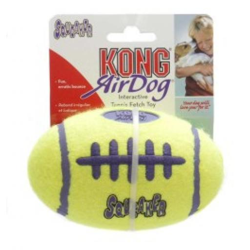 KONG Air Dog Squeaker American Football Dog Toy
