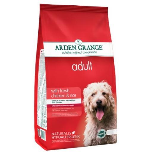 Arden Grange Adult Chicken & Rice Dog Food