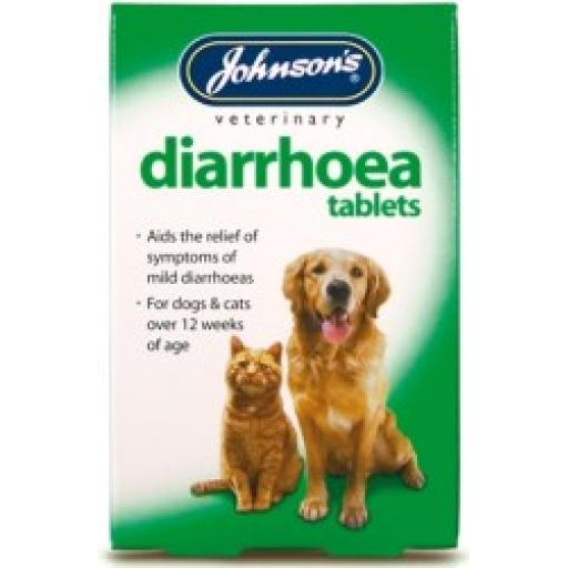 Johnsons Diarrhoea 12 Tablets