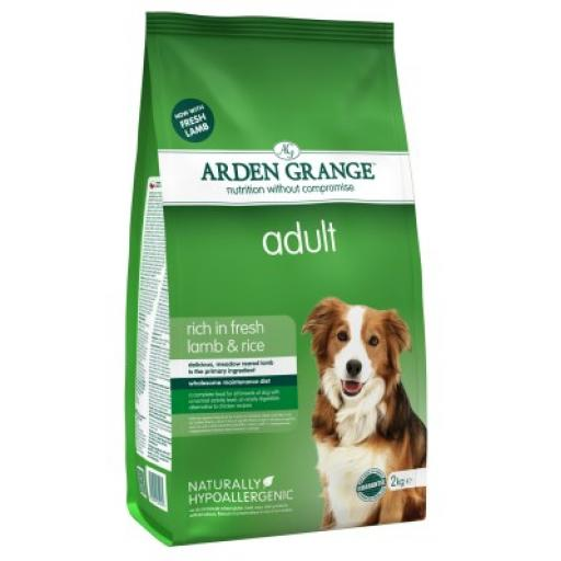 Arden Grange Adult Lamb & Rice Dog Food