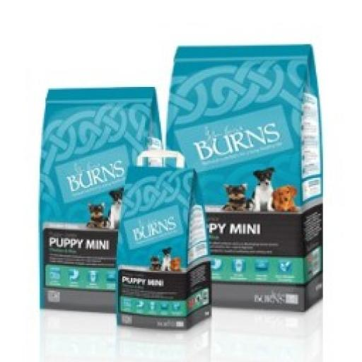 Burns Puppy Mini Chicken Dog Food