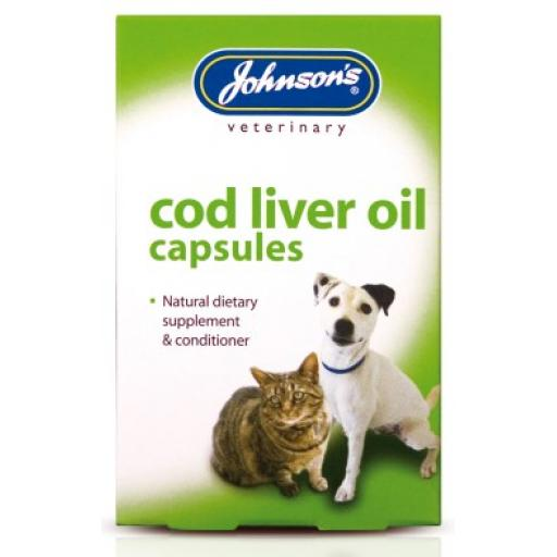 Johnsons Cod Liver Oil 40 capsules