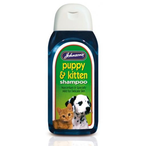 Johnsons Puppy Shampoo 200ml