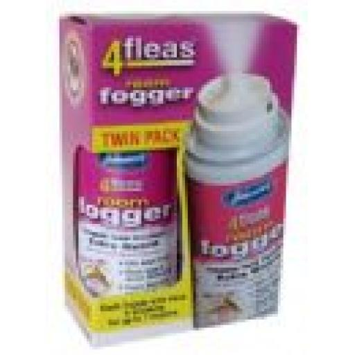 Johnsons 4fleas Room Fogger With Igr Twinpack