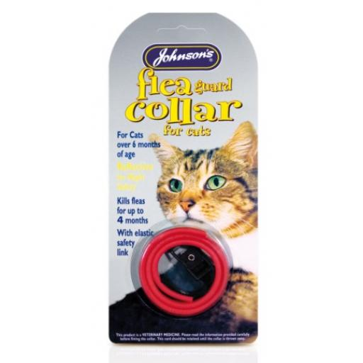 Johnsons Cat Flea Collar Waterproof 35cm