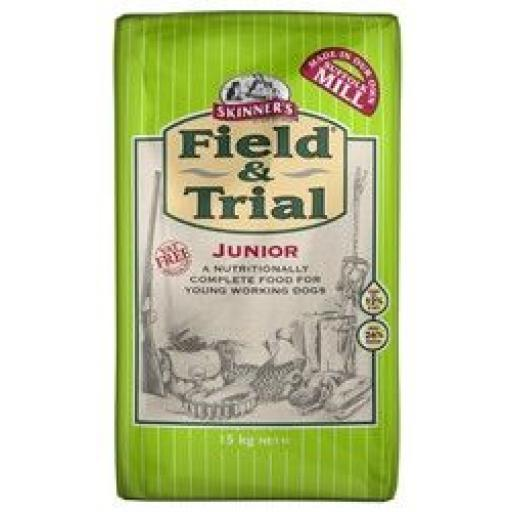 Skinners Field & Trial Junior Dog Food 2.5kg & 15kg