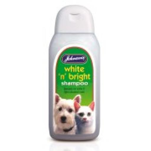 Johnsons White 'n' Bright Cat Shampoo