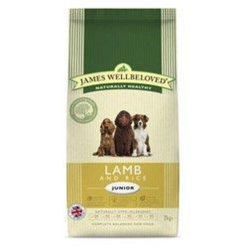 James Wellbeloved Junior Lamb & Rice Kibble Dog Food