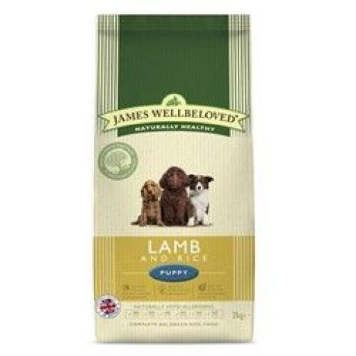 James Wellbeloved Puppy Lamb & Rice Kibble Dog Food