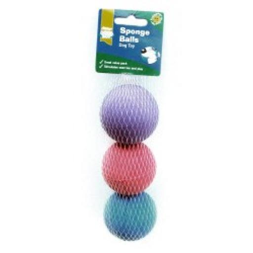 Goodboy Sponge Balls 3pack