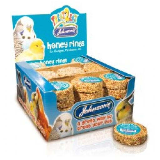 Johnsons Budgie Honey Ring 25g