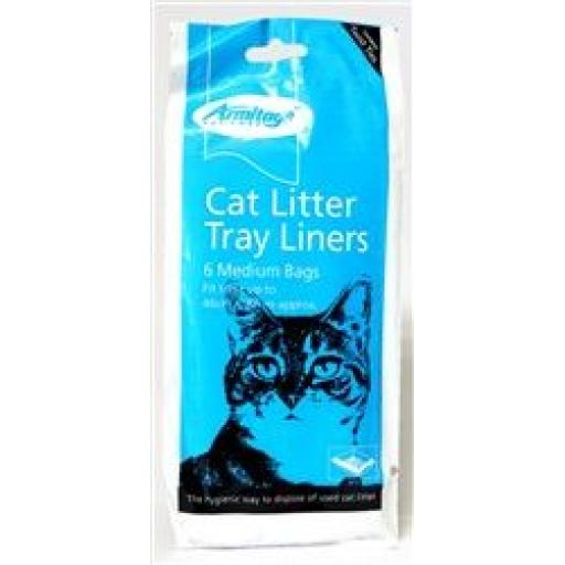 Armitage Cat Litter Tray Liners Medium (Pack of 6).