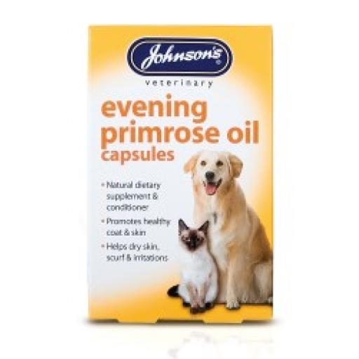 Johnsons Cat Evening Primrose Oil Capsules