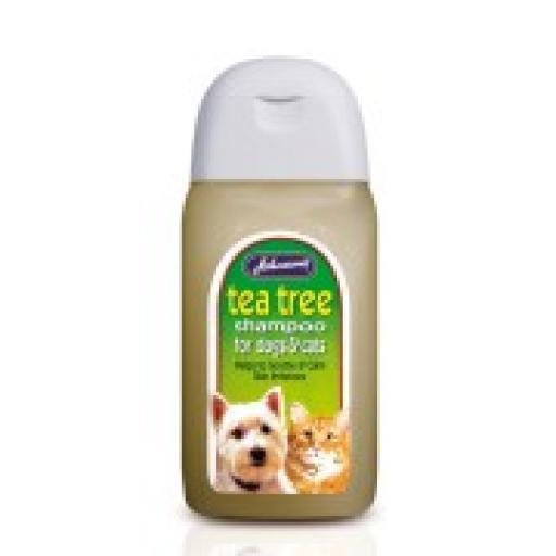 Johnsons Tea Tree Cat Shampoo