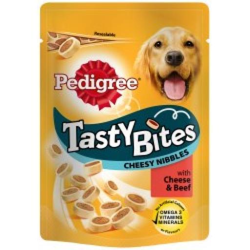 Pedigree Tasty Bites Cheesy Nibbles 140g