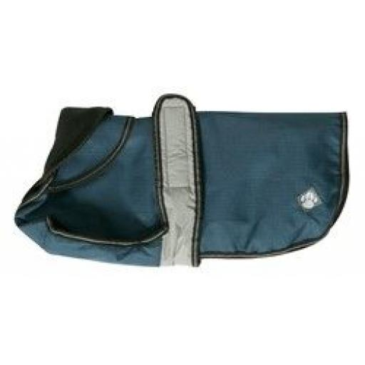 Danish Design Dog Coat 2 in 1 Blue