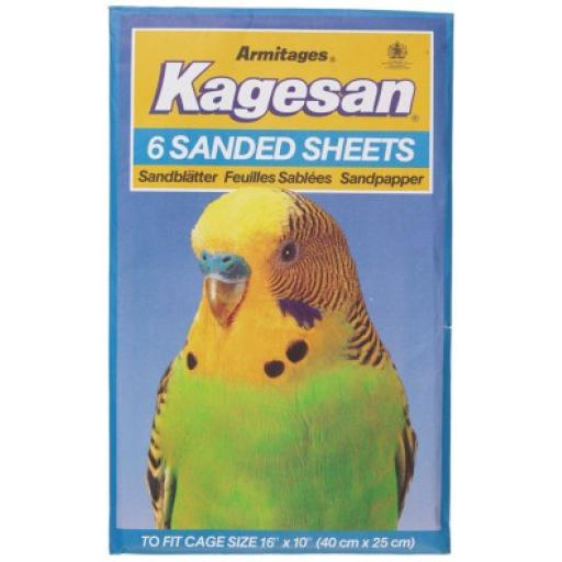 Kagesan Sand Sheets No5 40x25cm 6 Sheets
