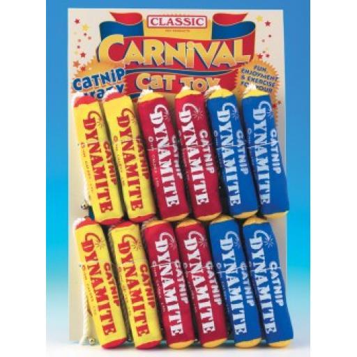 """Classic Catnip Dynamite 6"""""""