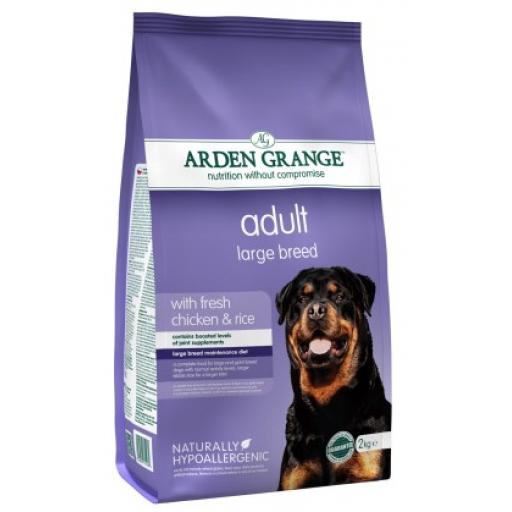 Arden Grange Adult Large Breed Chicken Dog Food