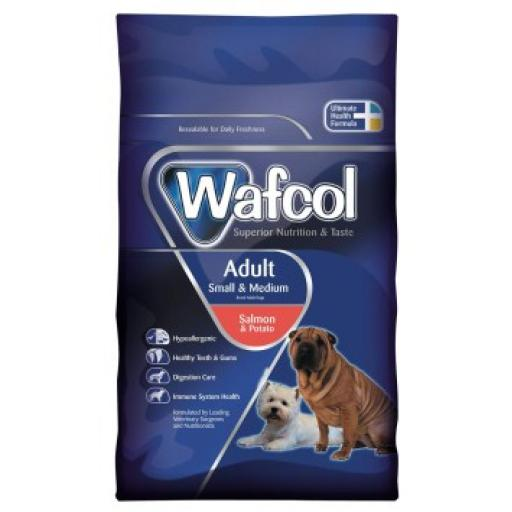 Wafcol Adult Small/Medium Salmon & Potato Dog Food
