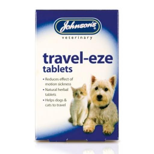 Johnsons Cat Travel-eze Tablets