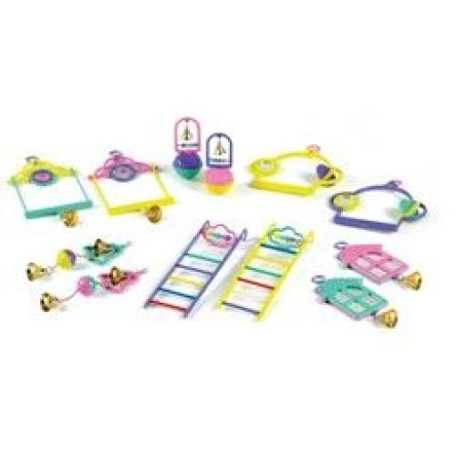 Classic Bird Toys Assorted