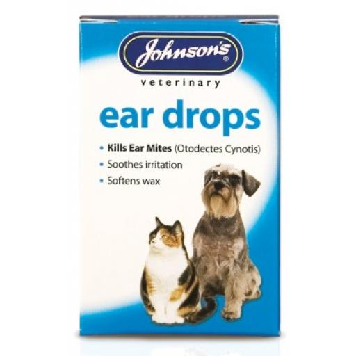 Johnsons Cat Ear Drops 15ml