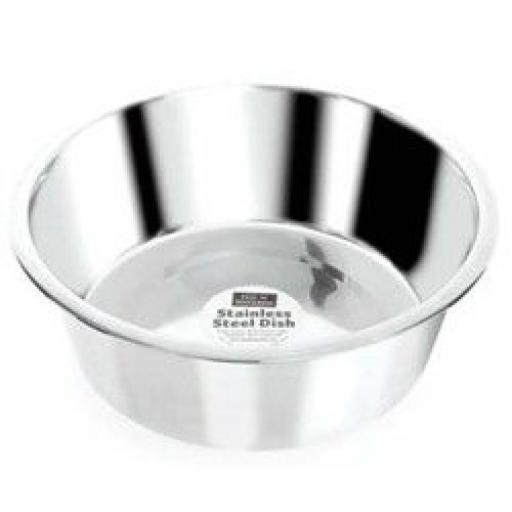 Fed 'N' Watered Stainless Steel Dog Feeding Bowl