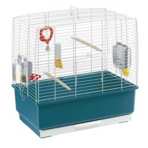 Ferplast Rekord 3 Bird Cage 49x30x48.5cm