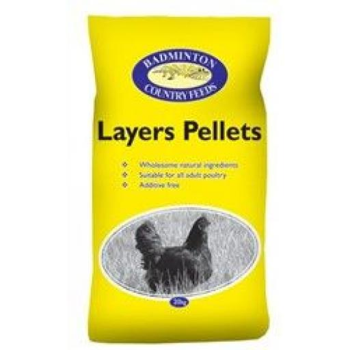 Badmington Layers Pellets 20kg