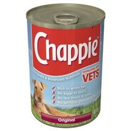 Chappie Original Dog Food 12 x 412g