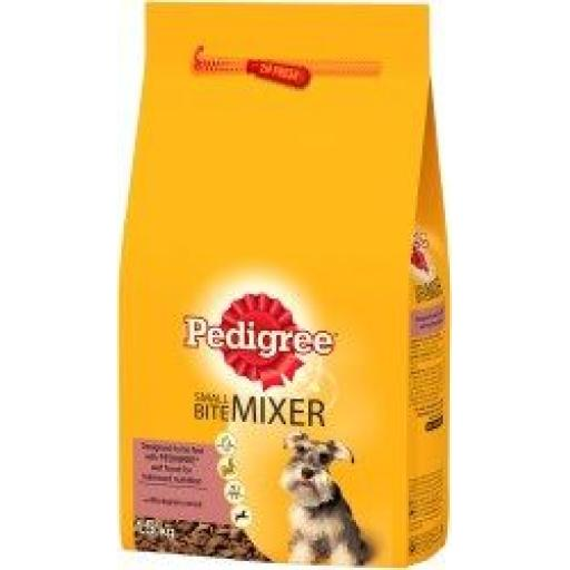 Pedigree Small Bite Mixer Original 1.5kg