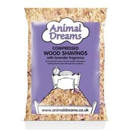 Animal Dreams Compressed Shavings Lavender