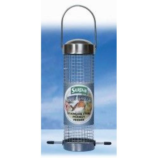 Supa Stainless Steel Fort Knuts Peanut Feeder