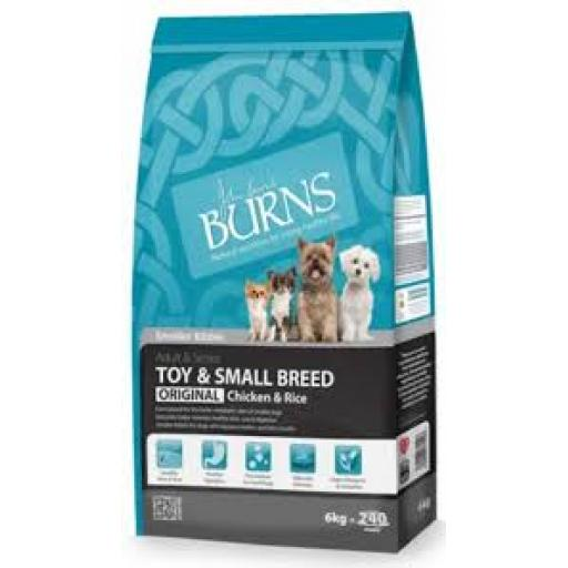 Burns Adult Small & Toy Breed