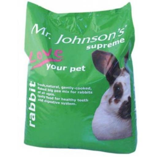 Mr Johnson's Supreme Rabbit Mix 2.5kg & 15kg