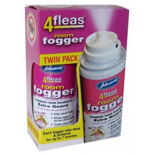 Johnsons 4fleas Room Fogger Twinpack