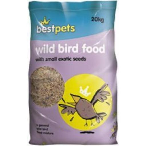 Bestpets Wild Bird Seed 1kg + 2kg