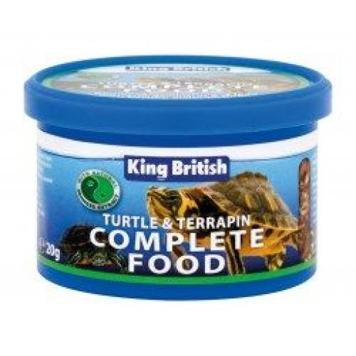 King British Turtle & Terrapin Food