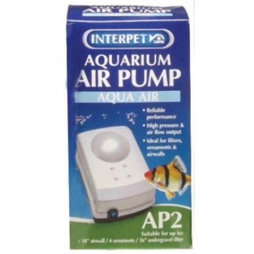 Interpet Aquarium Air Pump Ap1 - Ap2