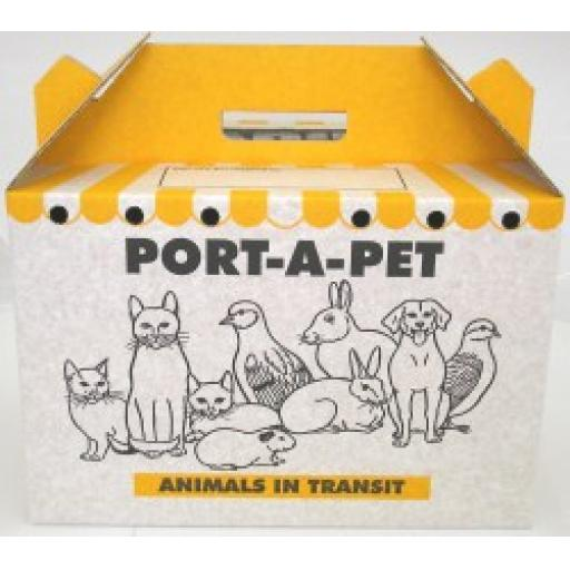 Shaws Port-A-Pet Standard Small Animal Cardboard Carrier