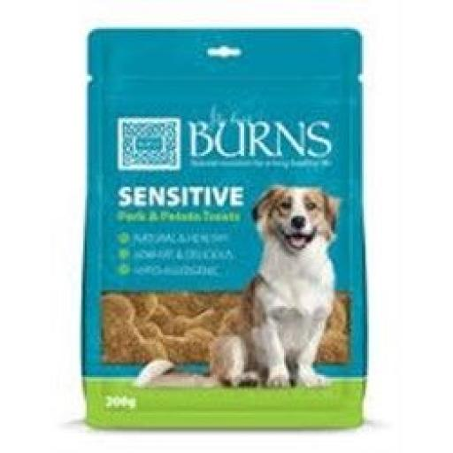 Burns Sensitive Pork & Potato Treats 200g