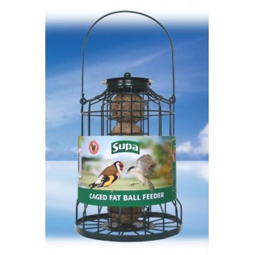 Supa Caged Fat Ball Feeder
