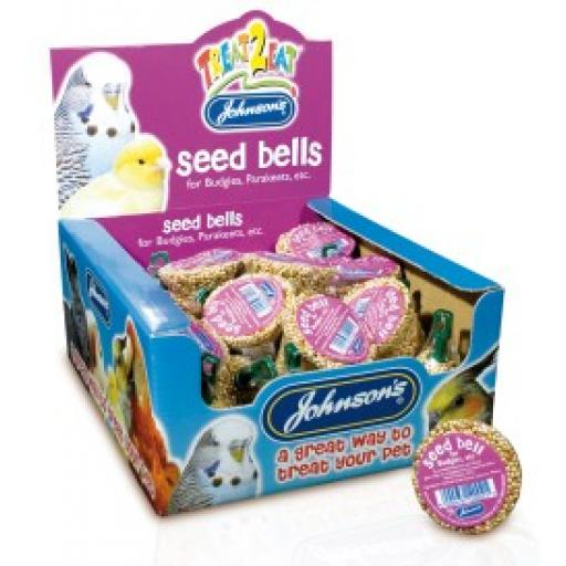 Johnsons Budgie Seed Bell 34g