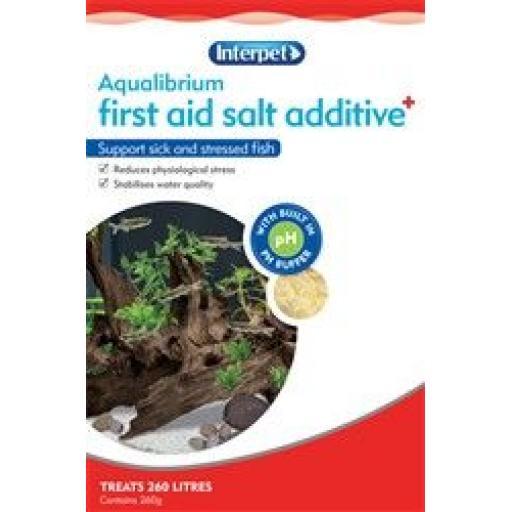 Interpet First Aid Salt Additive 265g