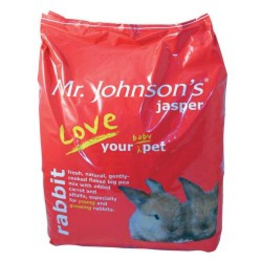 Mr Johnson's Junior & Dwarf Rabbit Mix 15kg